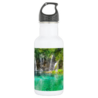 Waterfalls at Plitvice National Park in Croatia 532 Ml Water Bottle