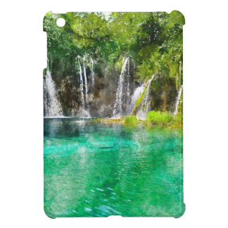 Waterfalls at Plitvice National Park in Croatia iPad Mini Cover