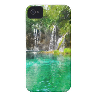 Waterfalls at Plitvice National Park in Croatia iPhone 4 Cases