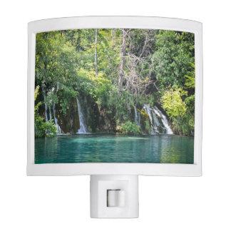 Waterfalls at Plitvice National Park in Croatia Night Lites