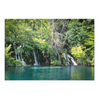 Waterfalls at Plitvice National Park in Croatia Photo Print