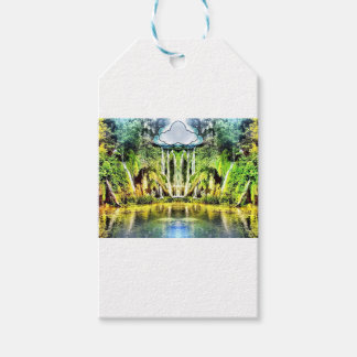 Waterfalls from the cloud gift tags
