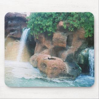 Waterfalls in Bahamas Mouse Pad