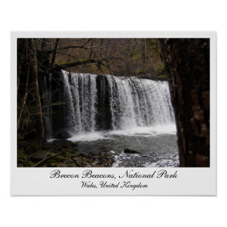 Waterfalls in Brecon Beacons National Park Wales Posters