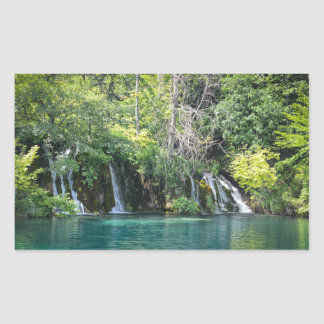Waterfalls in Plitvice National Park in Croatia Sticker