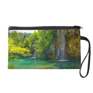 Waterfalls in Plitvice National Park in Croatia Wristlet