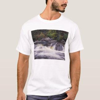 Waterfalls, Kancamagus Highway, White T-Shirt