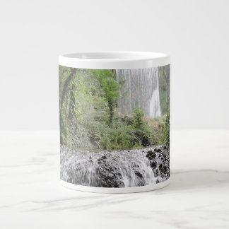 waterfalls large coffee mug