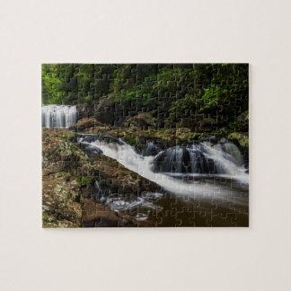 Waterfalls Lip Falls Gold Coast Australia Jigsaw Puzzle