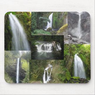 Waterfalls of the Northwest mousepad