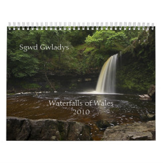 Waterfalls of Wales 2010 Wall Calendars