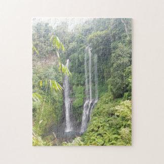 Waterfalls on Bali,Indonesia Puzzle