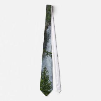 Waterfalls Tower Tie