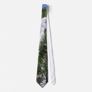 Waterfalls Trees Tie