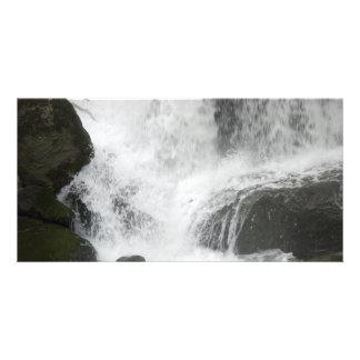 WaterfallSplash052309 Customized Photo Card