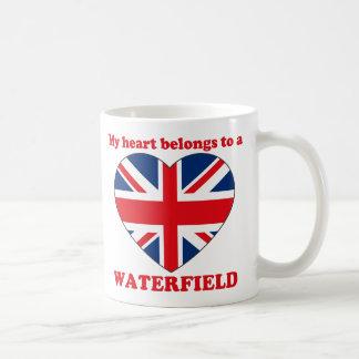 Waterfield Classic White Coffee Mug
