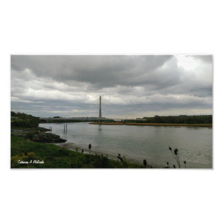 Waterford Cable Bridge, Waterford, Ireland Photo Print