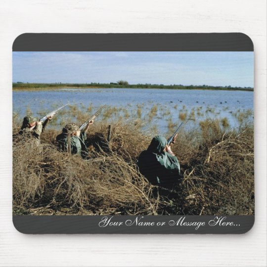 Waterfowl Hunting Mouse Pad