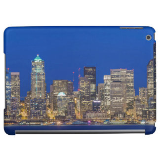 Waterfront and Downtown Skyline at Twilight iPad Air Cover