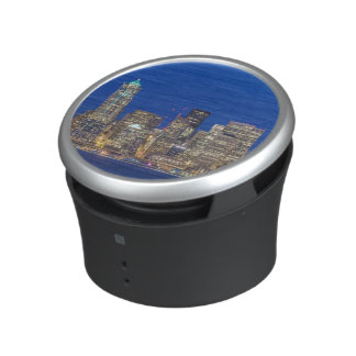 Waterfront and Downtown Skyline at Twilight Speaker