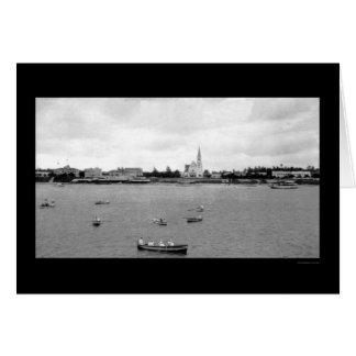 Waterfront at Dar-es-Salaam, Tanganyika 1902 Card