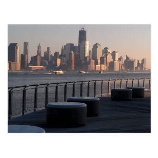 Waterfront, Hoboken, N.J. Postcard