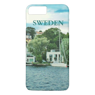 Waterfront houses in Sweden iPhone 8 Plus/7 Plus Case