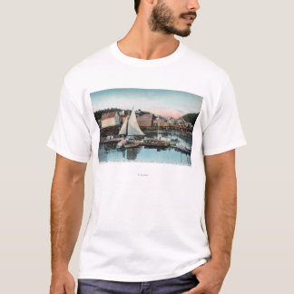 Waterfront View of the Floating Dock T-Shirt
