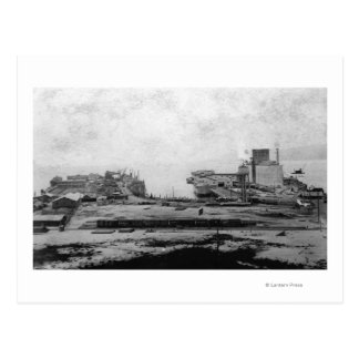 Waterfront warehouses at Astoria, OR Photograph Postcard