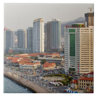 Waterfront with Yantai city skyline, Shandong Ceramic Tile