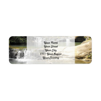 Waterhole at Goldie Bush Walk Return Address Label