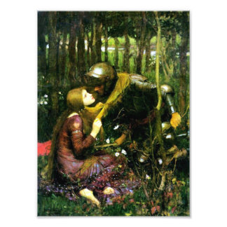 Waterhouse Beautiful Woman Without Mercy Print Photograph
