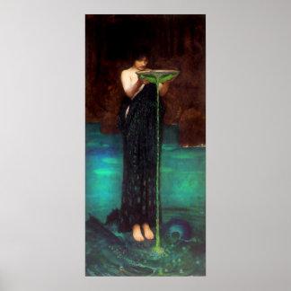 Waterhouse Circe Invidiosa Poster