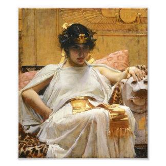 Waterhouse Cleopatra Photo Print