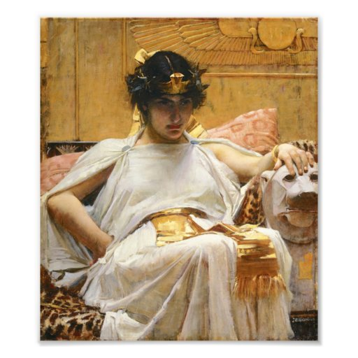 Waterhouse Cleopatra Photo Print