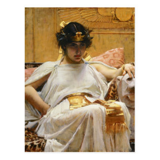 Waterhouse Cleopatra Postcard