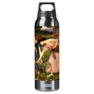 Waterhouse Gather Ye Rosebuds 16 Oz Insulated SIGG Thermos Water Bottle