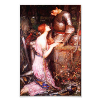 Waterhouse Lamia and the Soldier Print Photo Art