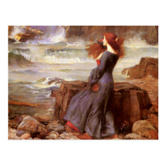 Waterhouse Miranda - The Tempest Postcard