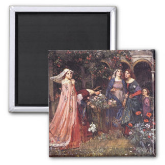 Waterhouse: The Enchanted Garden Magnet