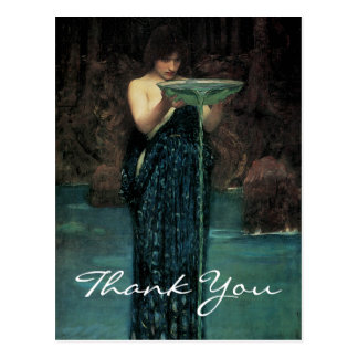 Waterhouse's Circe Invidiosa Postcard