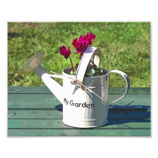 WATERING CAN PHOTO PRINT