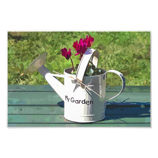 WATERING CAN ART PHOTO