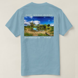 Watering Hole by Ricky Dean T-Shirt