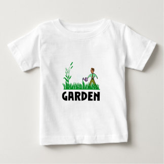 watering the garden baby T-Shirt