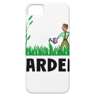 watering the garden iPhone 5 covers