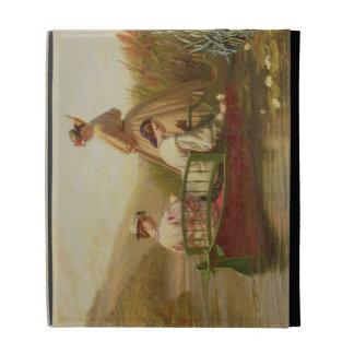 Waterlilies, 1864 (oil on canvas) iPad folio case