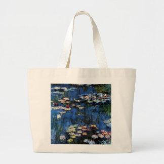 Waterlilies; 1914 canvas bag