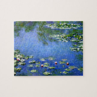 Waterlilies by Claude Monet, Vintage Fine Art Jigsaw Puzzle