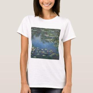 Waterlilies by Claude Monet, Vintage Flowers T-Shirt